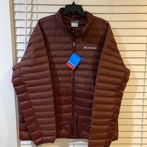 Columbia Puffer Jacket - Size XXL NWT